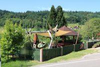 Kinderspielplatz in herrlichem Schwarzwaldpanorama