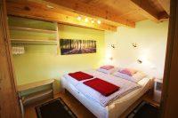 Schlafzimmer unserer Schwarzwald-Lodge - eine Oase der Entspannung