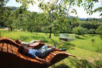 Relaxliegen am Fuß des Nationalparks Schwarzwald
